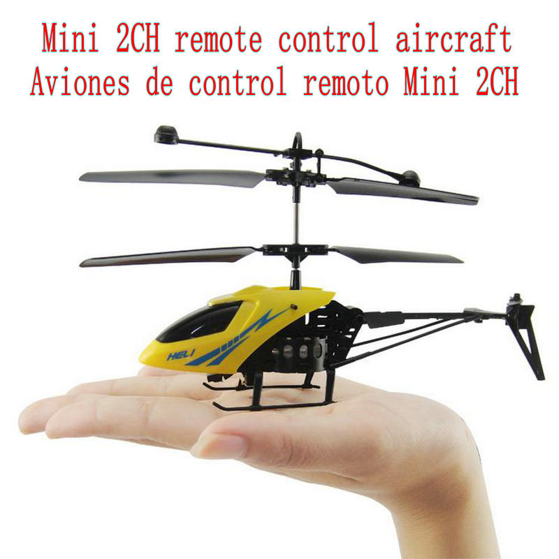 2016 New, 2-channel Remote Control Helicopter Kids Toys Mini Model Helicopter Remote Control Aircraft Shatterproof Gifts
