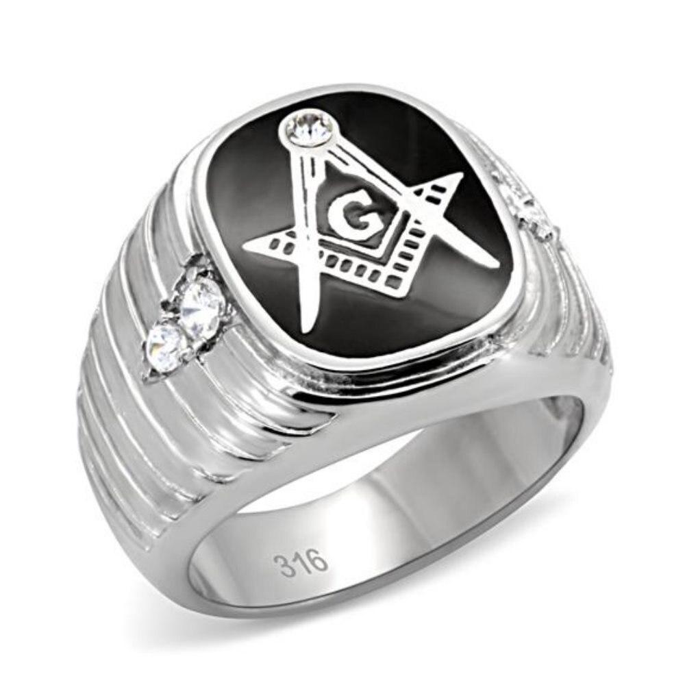526383b30307 Nueva última joyería High Polish Acero inoxidable anillo masculino Anillo  del partido del regalo de boda joyería de moda tamaño completo  8