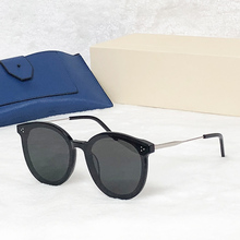 2019 Round Gentle Sunglasses men women high quality acetate vintage Jack hi sun glasses with Polariz lens UV400 Literary retro