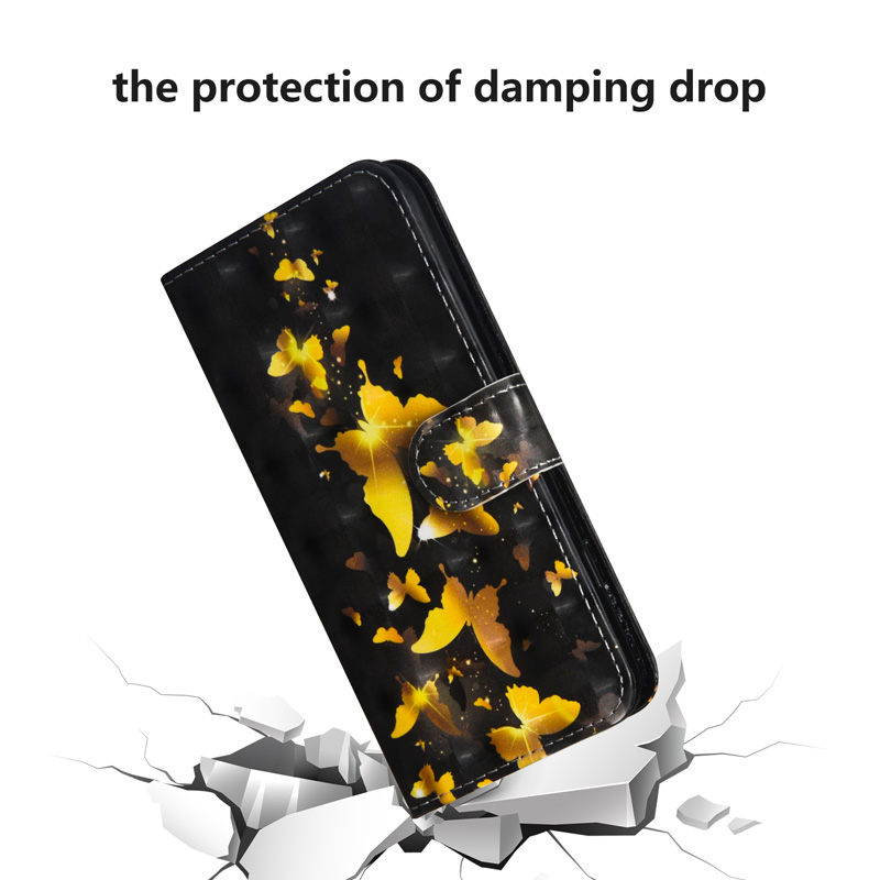 Butterfly PU Leather Flip Case For Huawei P30 P20 Pro P30 P20 Lite 2019 Wallet Cover Bag For Huawei P Smart Plus 2019 Case