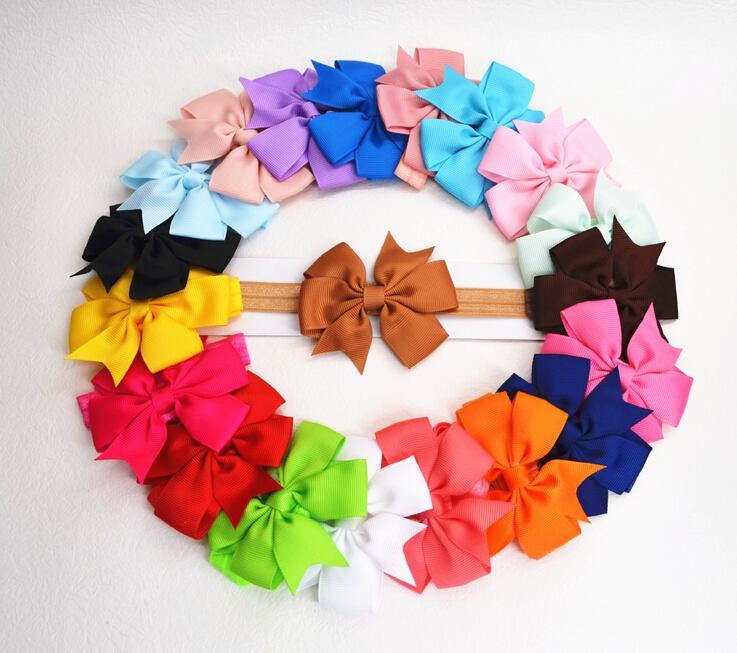 headwrap baby headbands headwear girls bow knot hairband head band infant newborn Toddlers Gift tiara hair