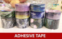 Chinese Original Vintage Washi Paper Tape Landscape Scenery Sky Decorative Scrapbook Tape Set For Masking