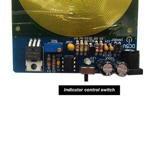 Image 5 - שומאן 7.83HZ גל גנרטור מאוד נמוך תדר דופק גנרטור תהודה אנרגיה קוסמית בתהודה אקריליק מקרה A1 015