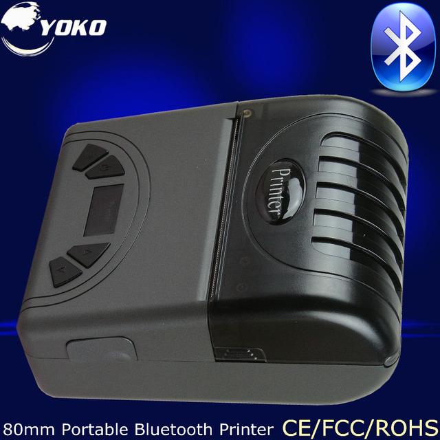 80mm Bluetooth Portátil Impresora Térmica Pos Sistema