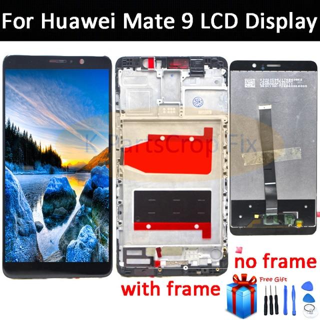 Huawei 社メイト 9 液晶ディスプレイタッチスクリーンデジタイザ Huawei 社メイト 9 フレームと Lcd Mate9 MHA L09 MHA L29 画面交換