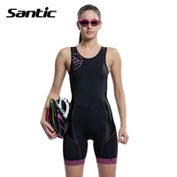 2015 Santic Cycling BIB Shorts Women Outdoor Mountain Bike Bicycle Sportswear Quick Dry Anti Sweat Breathable