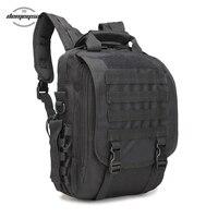 Military Tactical Bags Anti Small Rain Oxford Hiking 14 Laptop Backpacks Outdoor Wear Resisting Bag Laptop