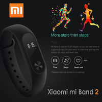 In Stock Original Xiaomi Mi Band 2 Miband Band2 Wristband Bracelet Smart Heart Rate Fitness Tracker