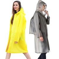 Men Raincoat Plastic Thick Rain Coats Woman Rainwear Rain Poncho Universal Waterproof Touring Hiking Hooded Schoolbag Raincoats