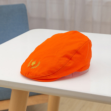 New winter autumn Cute solid Kids Beret Hat Cotton Boy Girl