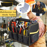 27 Bags Large Capacity Electrician Tools Bag Oxford Cloth Waterproof Single Shoulder Multifunction Repair Tool Organizers