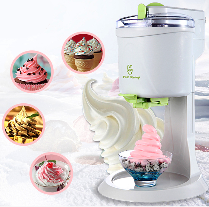 Fully Automatic Mini Fruit Ice Cream Maker for Home with 1L capacity and Unique Star Mold to make Delicious Fruit and Milk Ice Cream 1
