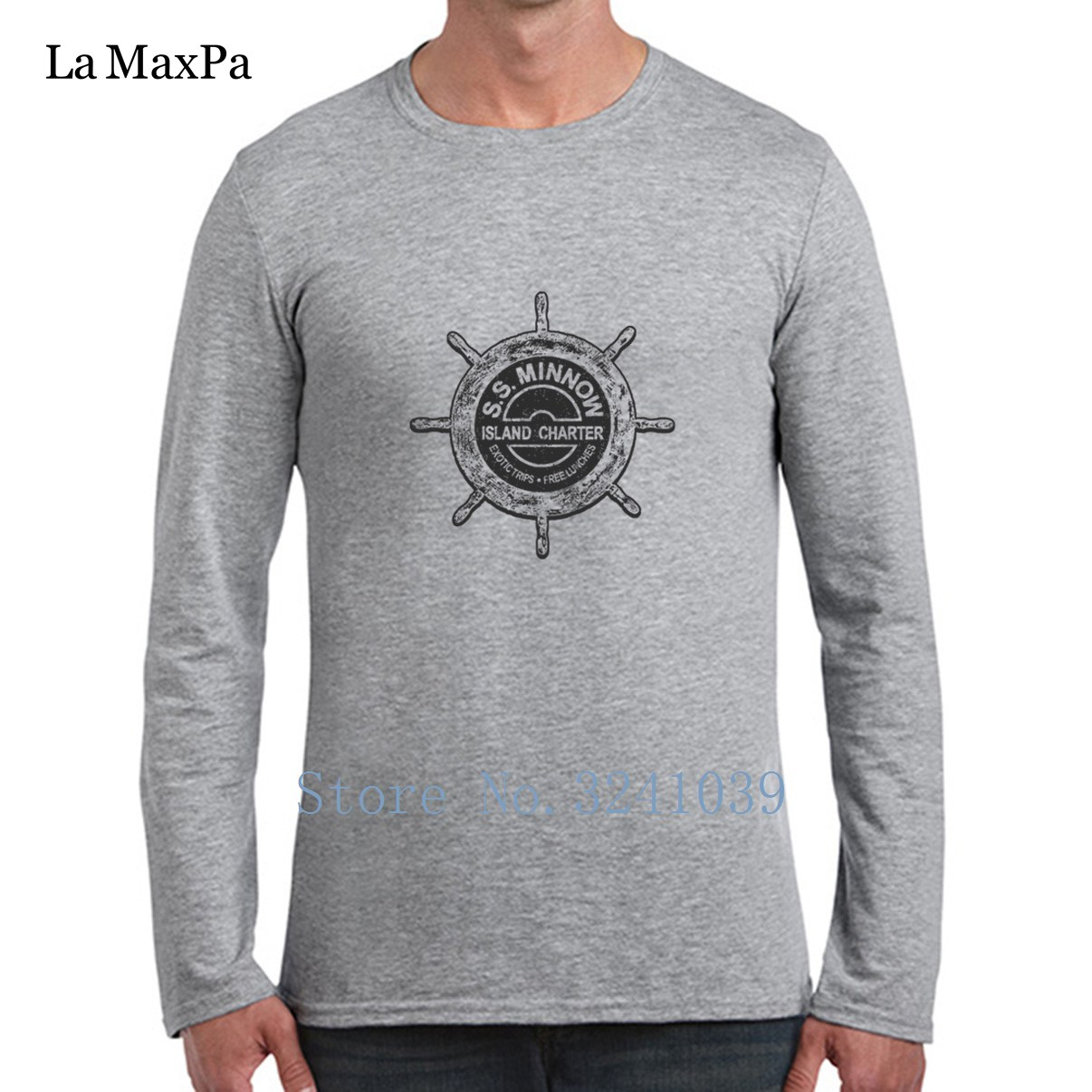 e2f41175 Build Your Own La Maxpa Gilligan's Island Novelty Tee Shirt For Mens 2018  Men T Shirt Homme long Sleeve Men Tshirt-in T-Shirts from Men's Clothing on  ...