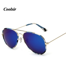 COOLSIR Hot 2017 New Fashion Style Man UV400 Camouflage Polarized Sunglasses  P3025* Color 5