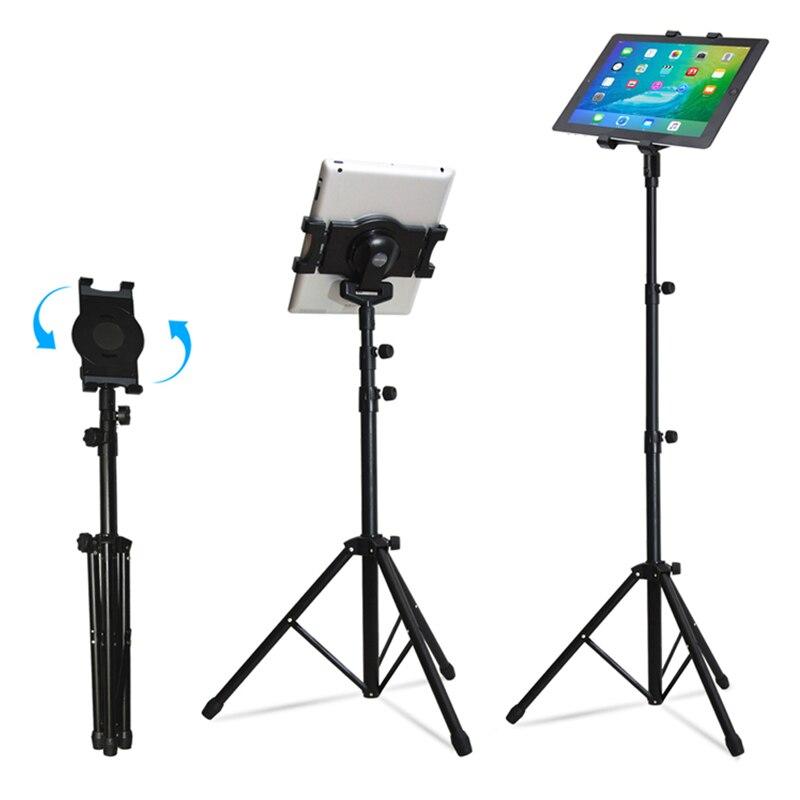 Support universel multi-direction pour tablette support de trépied pour 7-10 pouces pour iPad 234 Mini 123 Air 2 Samsung Lenovo