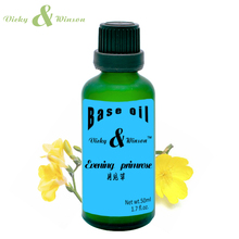 Vicky&winson Evening primrose oil 50ml 100% Natural Base Oil Moisturizing Increase Elasticity VWJC19Skin Care