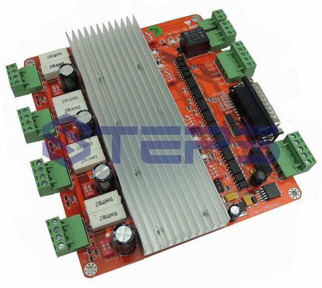 Quality assurance CNC 4 Axis TB6560 Stepper Motor Driver Controller Board For Mach3 bsm200ga120dn2 quality assurance test
