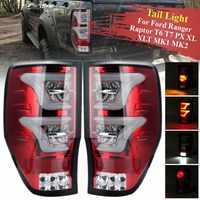 Светодиодный фонарь для Ford Ranger Raptor T6 T7 PX XL XLT MK1 MK2 2012 2018 задний фонарь заднего хода тормозной фонарь лампа аксессуары для DRL