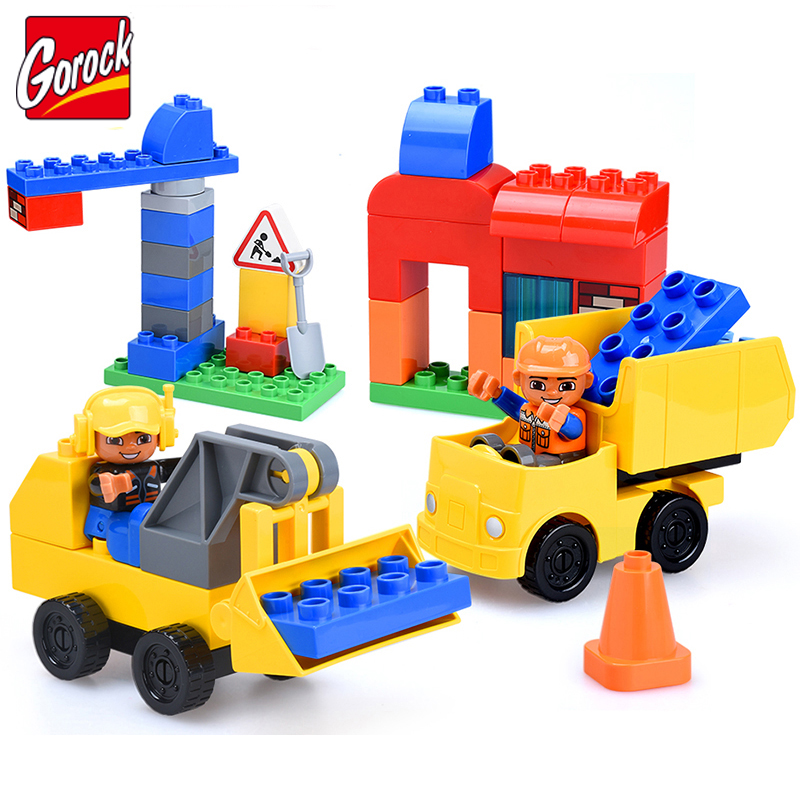 52pcs Diy Colorful Building Blocks Bricks Educational Toys