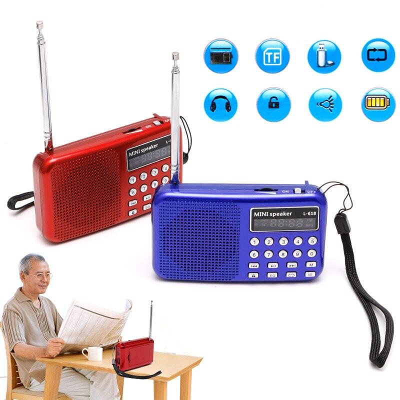 Ootdty Neue 2017 Ankunft Mini Lcd Digital Audio Fm Radio Lautsprecher Usb Micro Sd Tf Karte Mp3 Musik Player Heißer Verkauf Klar Und Unverwechselbar Unterhaltungselektronik