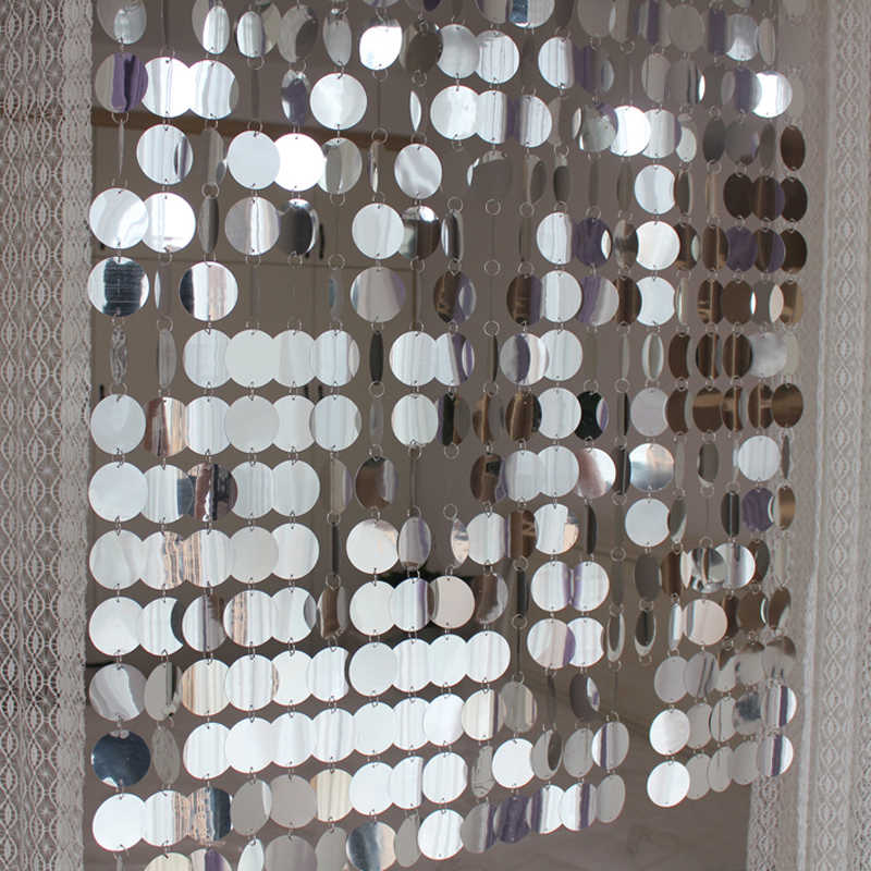 Festival Party supplies PVC sequins Curtain Interior Decorative curtains DIY Wedding supplies