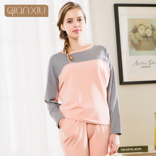 Qianxiu Couple new fall suit pajamas for women