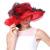 Mujeres libres Del Envío Sombrero Del Organza de Boda de La Iglesia Derby Cóctel Por la Noche Sunmer Beach Party Vestido de Cap de Ala Ancha Dom Sombrero de La Vendimia nueva