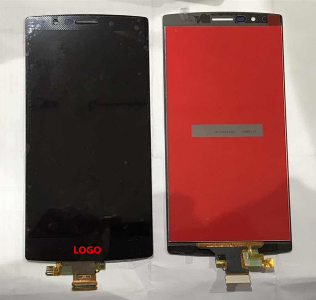 ФОТО LCD screen display+touch digitizer For LG G4 H810 H815 VS999 single sim or H818 dual sim black Free shipping