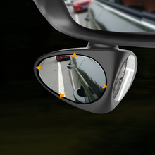 1 stück Auto Blind Spot Spiegel 360 Grad Konvexen Drehbare 2 Seite Automibile Außen Rückansicht Parkplatz Spiegel Sicherheit Zubehör