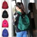 Moda Nylon Mulheres Mochila Faculdade Saco de Ensino Médio Para Adolescente Menina Ladie saco de Livro Mochila Macio Diário bagpack