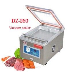 Automatyczne pulpit zgrzewarka próżniowa  pakowanie próżniowe żywności maszyna  próżniowe podmiotu pakującego  torba uszczelniania maszyn DZ 260|Próżniowe przechowywanie żywności|AGD -