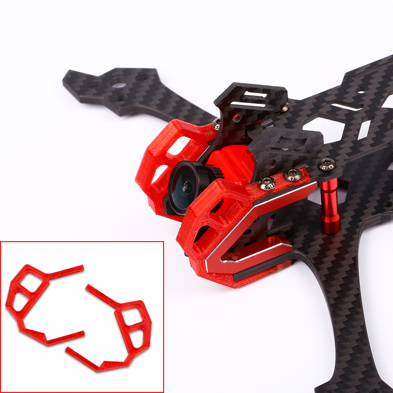 1Set New For iFlight Dragon Teeth V3 FPV Drone 3D Printed FPV Camera Base Camera Protector Bracket FPV Cam Protection Guard