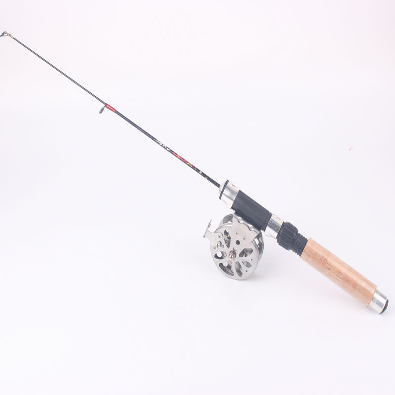New arrival portable mini ice fishing rod small fish and for Fishing rods and reels
