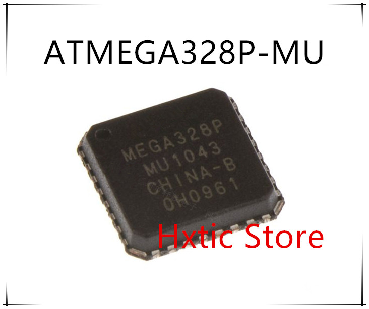 10PCS/lot ATMEGA328P-MU ATMEGA328P MEGA328P-MU QFN-32 New And Original