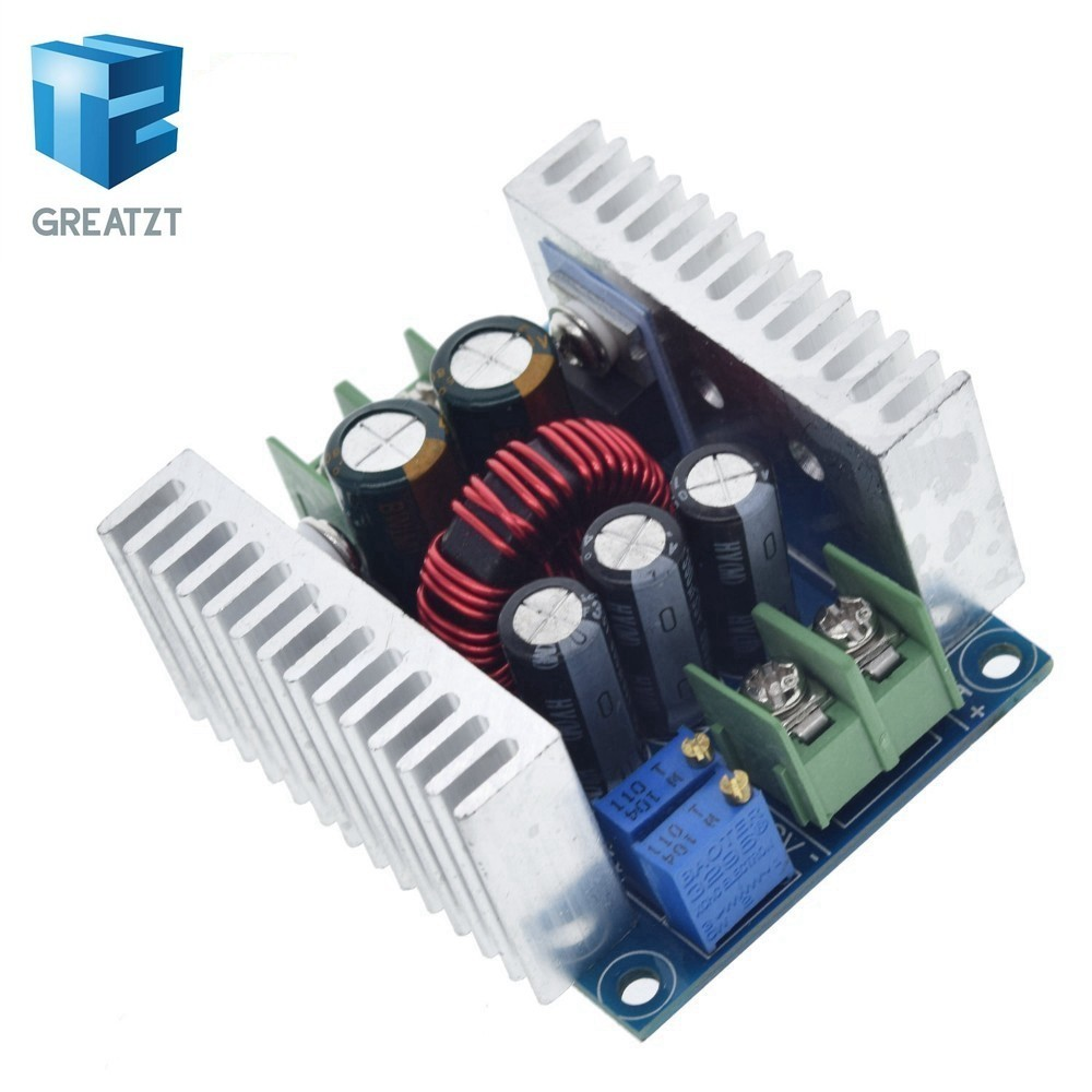 300W 20A DC DC Buck Converter Step Down Module Constant Current LED Driver Power Step Down Voltage Module Electrolytic Capacitor|Integrated Circuits|   - AliExpress
