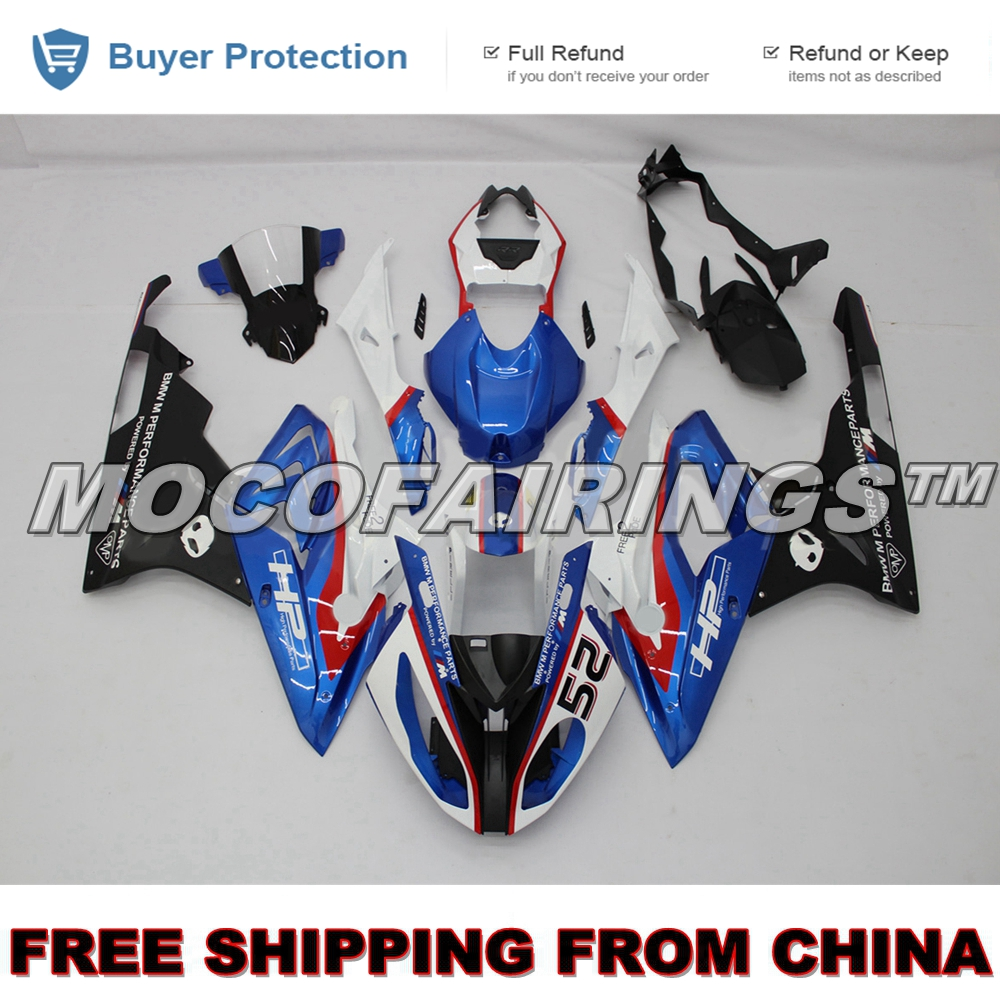 For BMW S1000 RR 2015 2016 Injection Motor Bodywork S1000RR 15 16 Complete ABS Fairing Kit HP4 NEW hot sales for bmw s1000rr fairing s1000 rr s 1000rr s1000 rr 2010 2014 red black white bodywork fairings kit injection molding