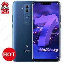 6.3 inç HUAWEI Mate 20 Lite Maimang 7 6 GB 64 GB Cep Telefonu Kirin 710 Octa Çekirdek Android 8.1 2340x1080 9 V/2A Hızlı Şarj