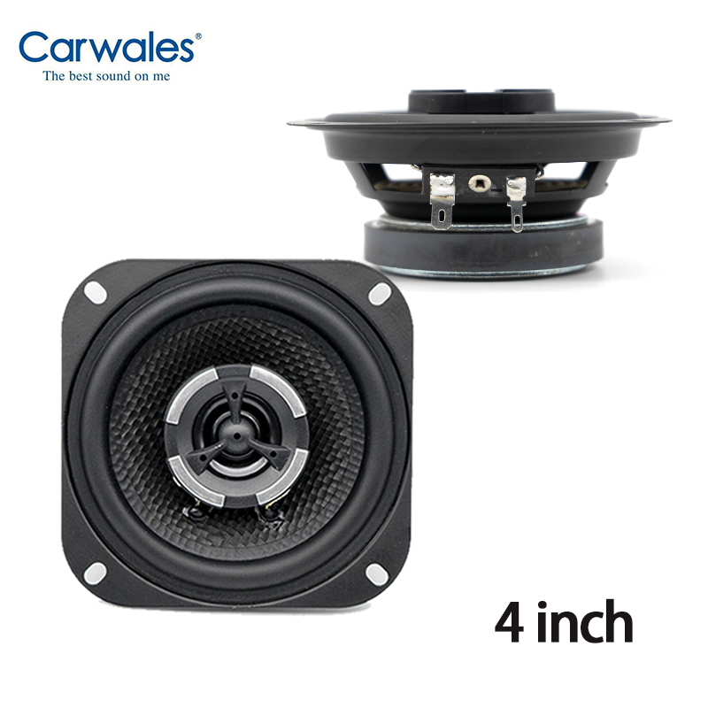 Universal New 4 Inch 2Way 120W Car Speaker Automobile Car HiFi Audio Full Range Frequency coaxial