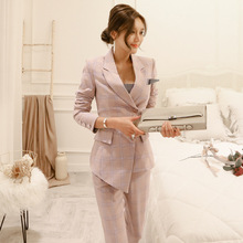 Fashion 2020 New Business Pant Suits Set Blazers Formal Wome