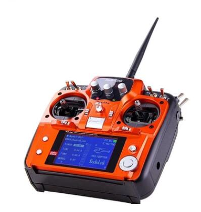 RadioLink AT10 II Mode 2 with bag RC Transmitter 2.4G 10CH Remote Control System with R12DS Receiver for RC Airplane Helicopter