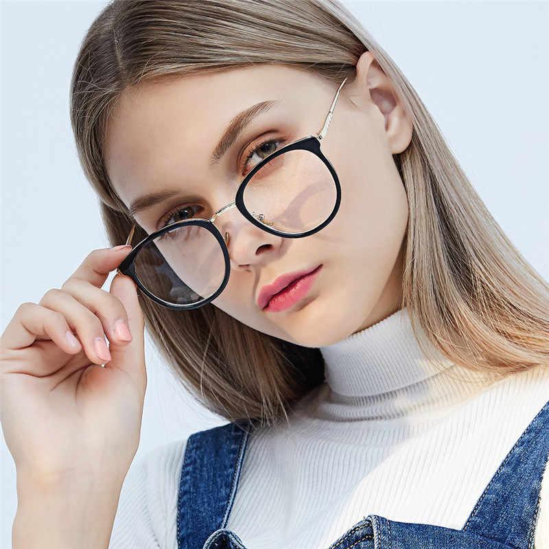 HUITUO الأوروبية والأمريكية الأزياء الرجعية نظارات إطار الرجال النظارات شفافة النساء البصرية نظارات الكمبيوتر نظارات