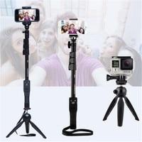 For Gopro Hero Digital Camera Phone Yunteng 1288 Bluetooth Selfie Stick Self Timer Pole Self Portrait