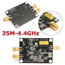 1 pc nova chegada 35 m 4.4 ghz pll rf fonte de sinal sintetizador de freqüência adf4351 placa de desenvolvimento