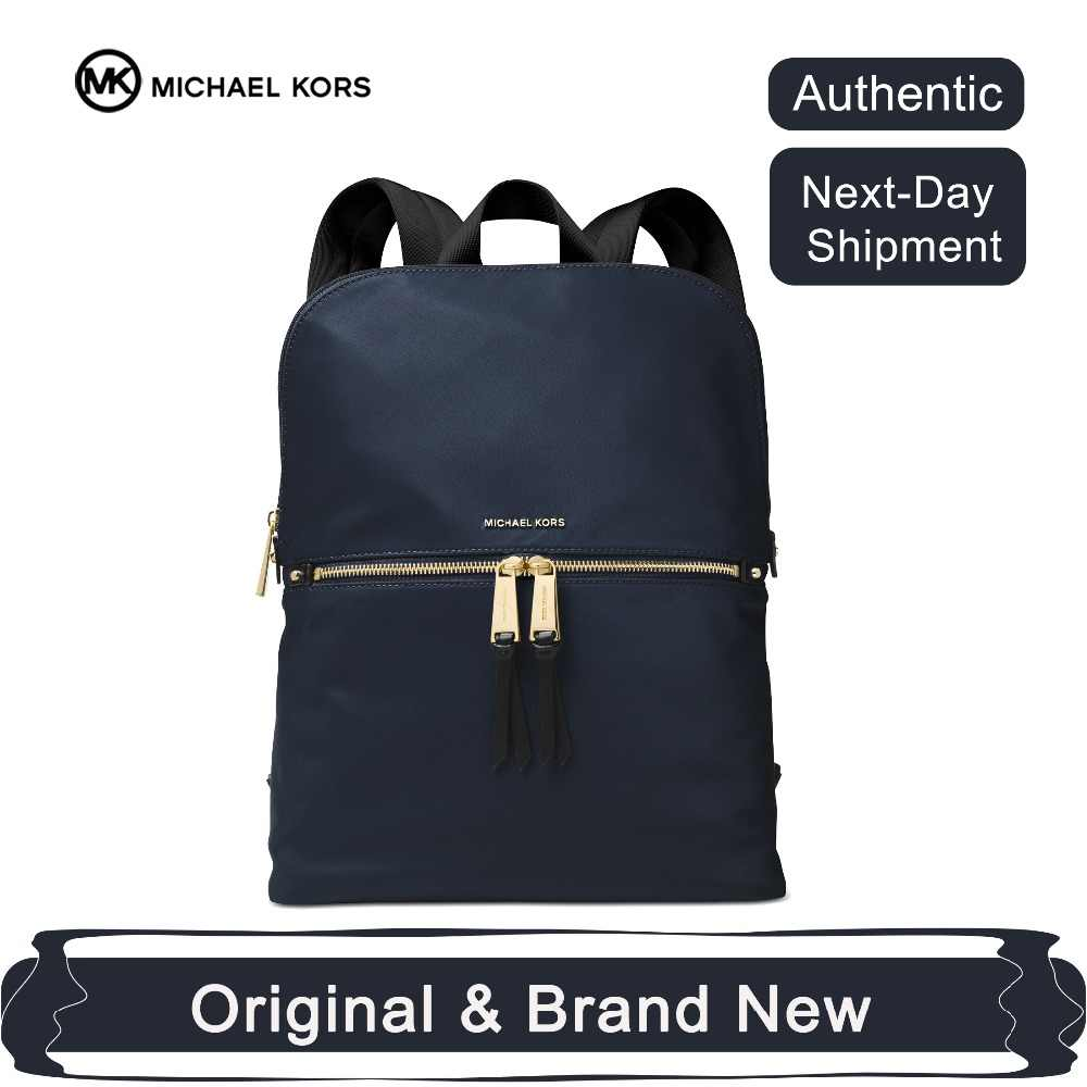 d0e966fb782b Michael Kors Polly Slim BackPack Medium Luxury Backpacks For Women Bags  Designer by MK
