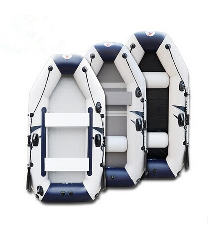 Wear-resistant Laminated Ship Thick Plywood Crash Bar 2-4 Person Fishing Inflatable Boat Rubber Boat With High Quality
