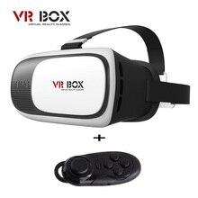 2016G Oogleกระดาษแข็งH Eadmount VR BOXรุ่นVRความจริงเสมือนแว่นตา3dภาพยนตร์เกม+บลูทูธการควบคุมระยะไกลGamepad