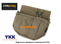 TMC Addon Plate Carrier Fanny Pack Matte Coyote Brown Plate Carrier Drop Pouch GP Pouch+Free shipping(SKU12050397)