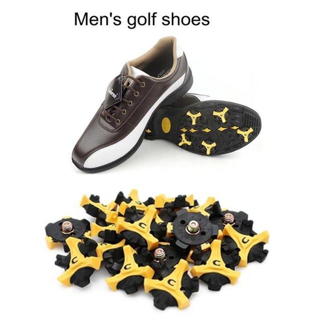 14pcs Golf Shoe Spikes Studs Replacement Cleats Champ Practice Training  Aids Part d5d0c73f174