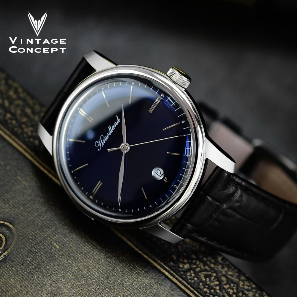 San Martin Men Automatic Stainless Steel Watch 50m Water Resistance Sapphire Glass Relojes Hombre 2018 Wristwatch Retro Watch