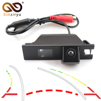 Sinairyu Intelligent Rear View Camera for Chevrolet Cobalt II 2011 2014 Vehicle Back Camera with Trajectory Dynamic Parking Line